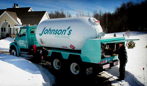 johnsons propane truck